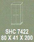 Meja Kantor Modera SHC 7422 ( S Class )