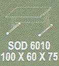 Meja Kantor Modera sOD 6010 ( S Class )
