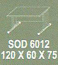 Meja Kantor Modera SOD 6012 ( S Class )