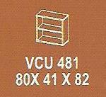 Meja Kantor Modera VCU 481 ( V Class )