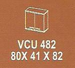 Meja Kantor Modera VCU 482 ( V Class )