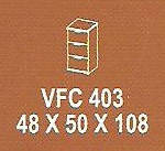 Meja Kantor Modera VFC 403 ( V Class )