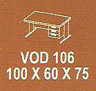 Meja Kantor Modera VOD 106  ( V Class )