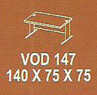 Meja Kantor Modera VOD 147 ( V Class )