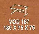 Meja Kantor Modera VOD 187 ( V Class )