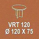 Meja Kantor Modera VRT 120 ( V Class )