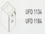 Meja Kantor Uno ( Hanging Drawer ) UFD 1134 & UFD 1184 ( Classic Series )