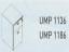 Meja Kantor Uno ( Mobile Drawer ) UMP 1136 & UMP 1186 ( Classic Series )