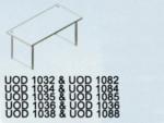 Meja Kantor Uno ( Office Desk ) UOD 1088 & UOD 1038 ( Classic Series )