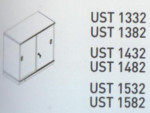 Meja Kantor Uno ( Sliding Credenza ) UST 1332 & UST 1382 ( Classic Series )