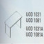 Meja Kantor Uno ( Special Desk ) UOD 1031 & UOD 1081 ( Classic Series )
