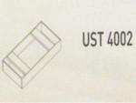 Meja Kantor Uno ( Afron ) UST 4002 ( Gold Series )