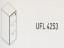 Meja Kantor Uno ( Filling Cabinet ) UFL 4253 ( Gold Series )
