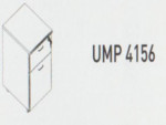 Meja Kantor Uno ( Mobile Drawer ) UMP 4156 ( Gold Series )