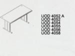 Meja Kantor Uno ( Office Desk ) UOD 4052 A ( Gold Series )