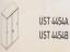 Meja Kantor Uno ( Sliding Credenza ) UST 4454 A ( Gold Series )