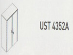 Meja Kantor Uno ( Upper Credenza ) UST 4352 A ( Gold Series )