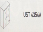 Meja Kantor Uno ( Upper Credenza ) UST 4354 A ( Gold Series )