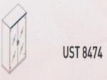 Meja Kantor Uno ( Medium Credenza ) UST 8474 ( Lavender Series )
