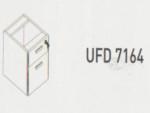 Meja Kantor Uno ( Hanging Drawer ) UFD 7164 ( Modern Series )
