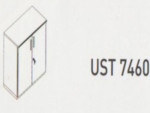 Meja Kantor Uno ( Lower Credenza ) UST 7460 ( Modern Series )
