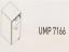 Meja Kantor Uno ( Hanging Drawer ) UMP 7166 ( Modern Series )