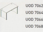 Meja Kantor Uno ( Office Desk & Side Desk ) UOD 7066 ( Modern Series )