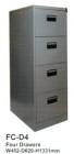 Filling Cabinet Tiger 4 Laci FC-D4